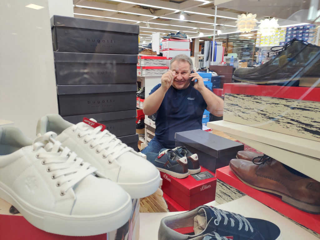 Kenkäpori, kenkäliike Teljäntori kauppakeskus Pori, Juha Janhunen