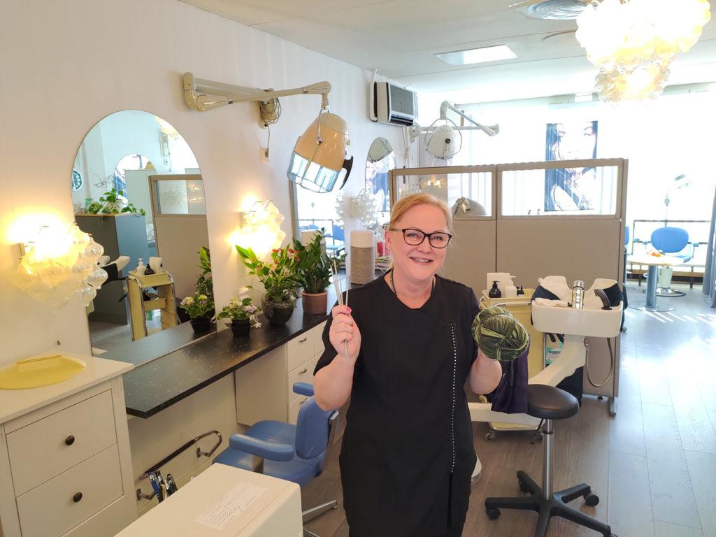 Parturi-kampaaja Marja Selin Teljäntori