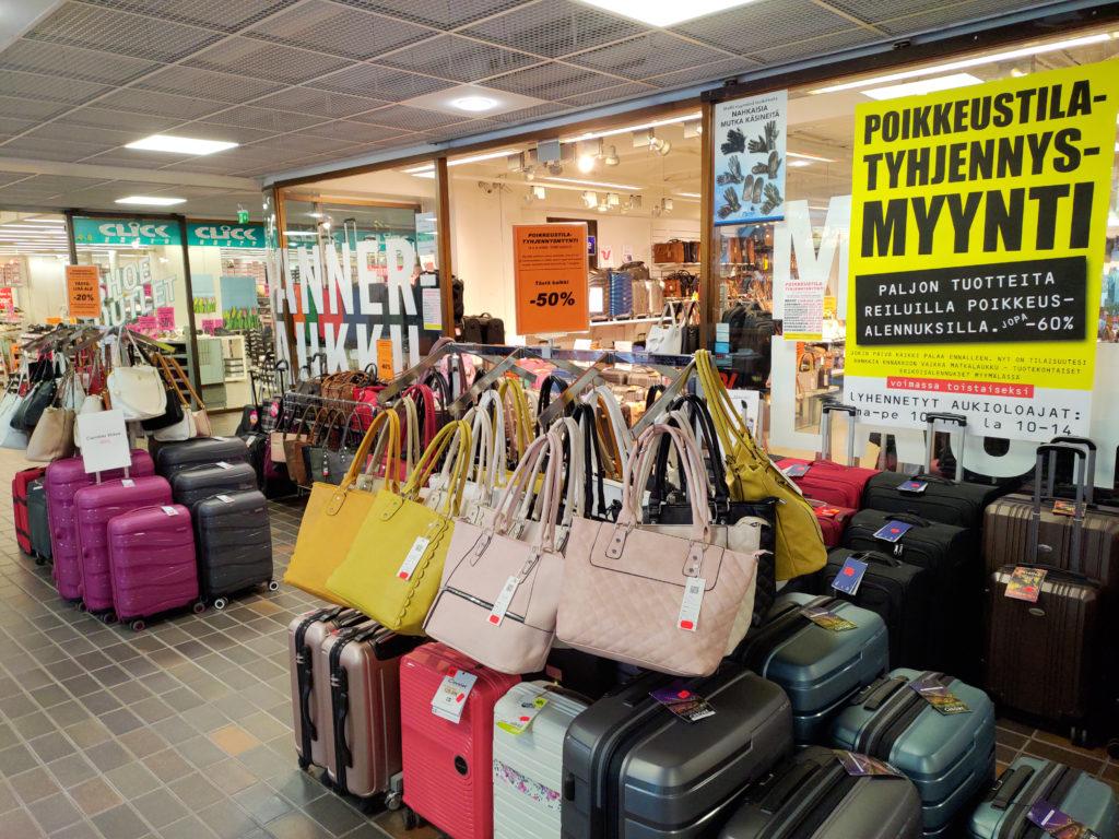 Manner-Laukku laukkuliike, Teljäntori kauppakeskus Pori