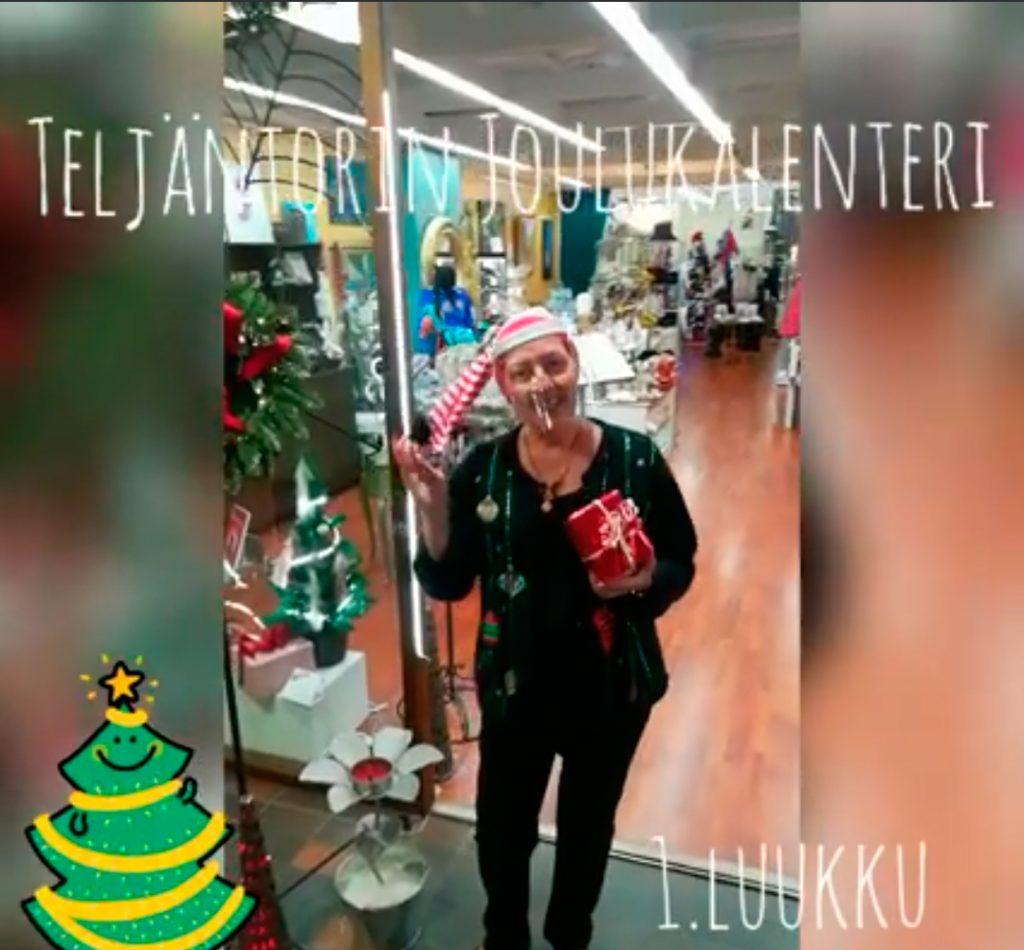 Teljäntorin joulukalenteri PopUppari